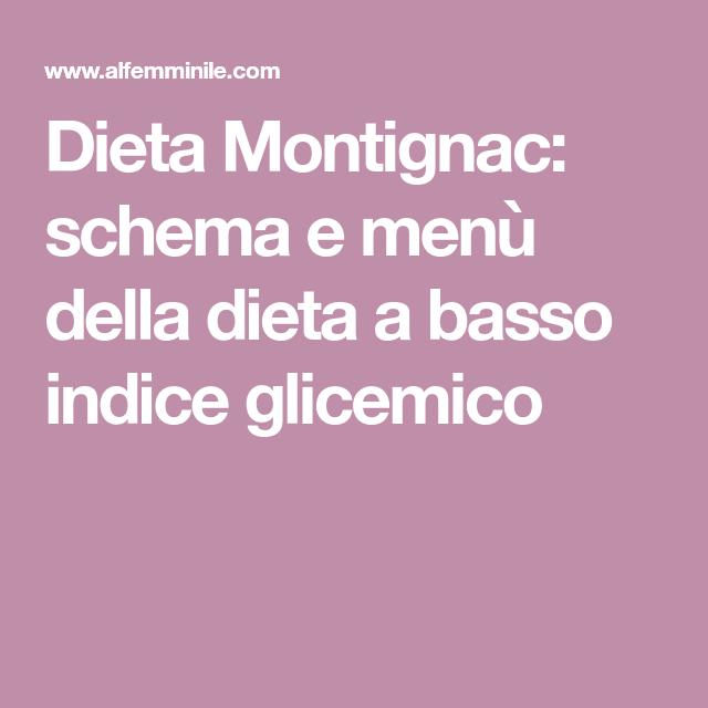 Dieta basso indice glicemico pdf
