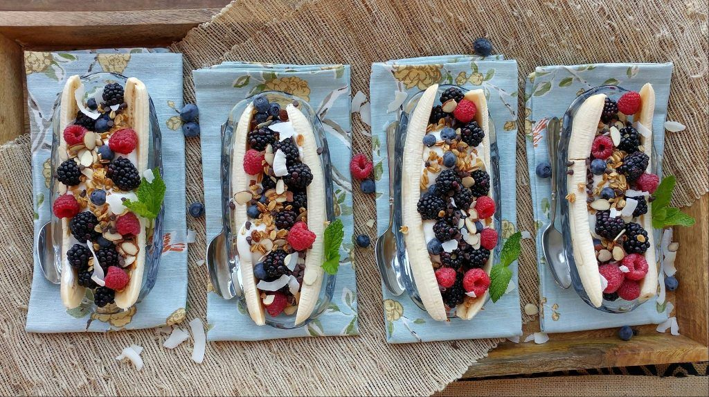 Banana Split Breakfast Bar Recipe Clean eating