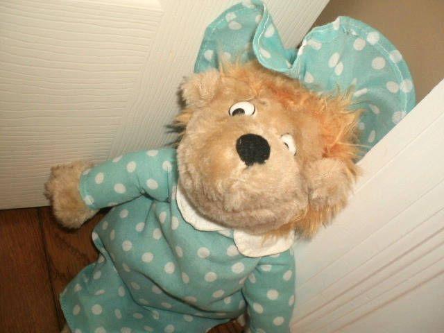 "BERENSTAIN BEARS stuffed PLUSH MAMA BEAR doll TOY 13"" #Kellytoy"