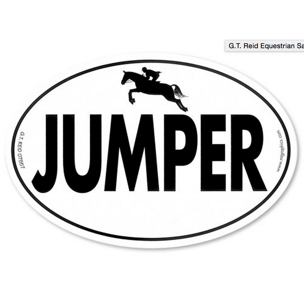 Euro-Jumper Sticker