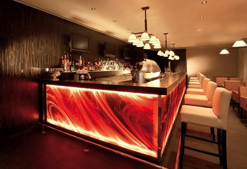 background lighting on bar | LIGHTING Interior Decoration ...