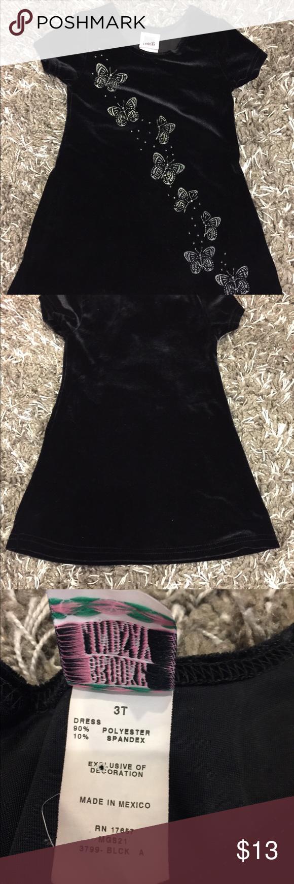 Brooke Lindsay Black Velvet Dress 3t Black Velvet Dress Velvet Dress 3t Dress [ 1740 x 580 Pixel ]