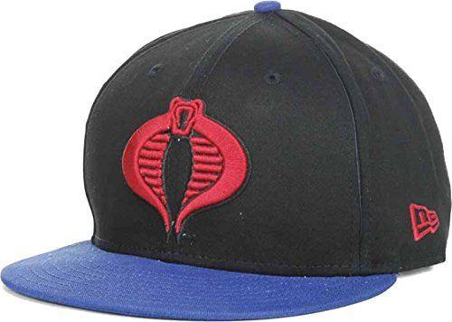 3d1fb1a1051 GI Joe New Era Cobra Logo Rev Hero 9Fifty Snapback Cap Ha... https