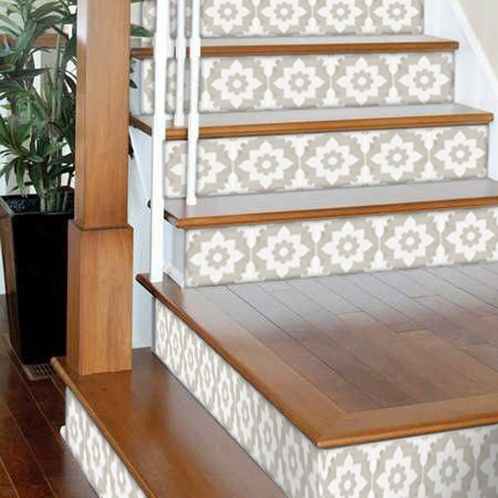 Best Campagne In Sand Stair Riser Stickers Stair Risers 640 x 480