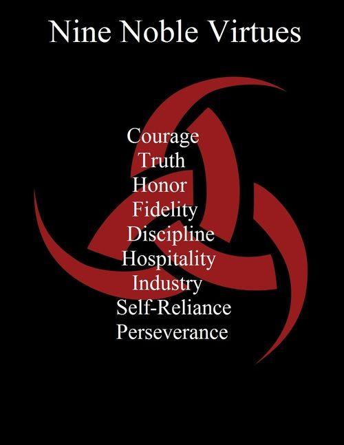 The Nine Noble Virtues of Asatru