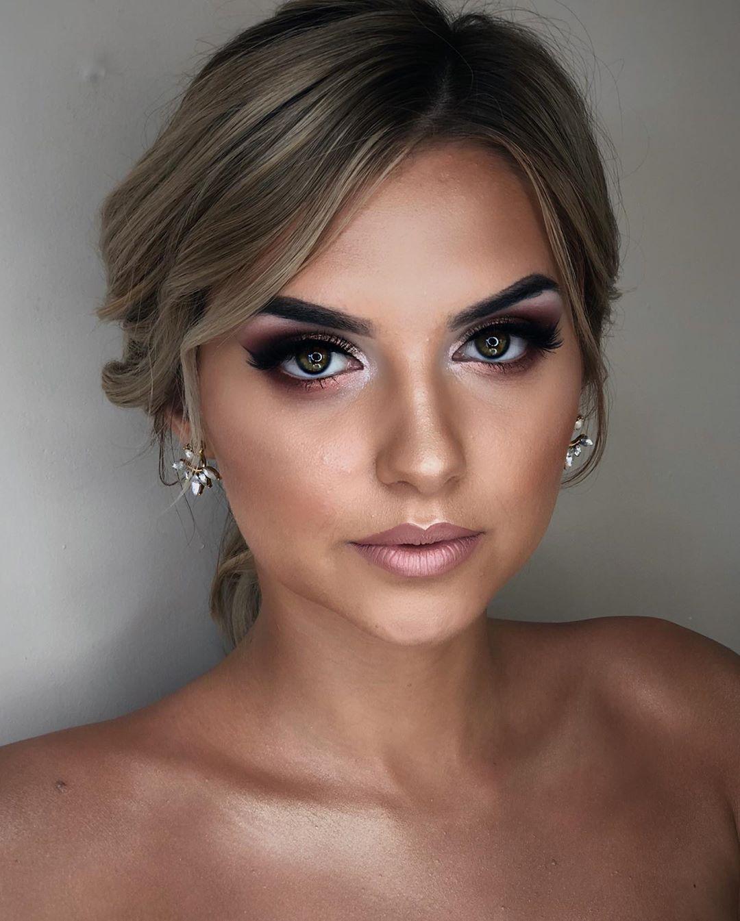 I love this dramatic makeup look! 😍 Dramatic Makeup Full