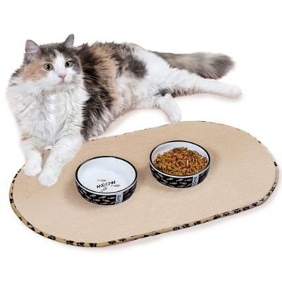 Buy The Originala Taupe Pet Bowl Mat In Large From Bed Bath