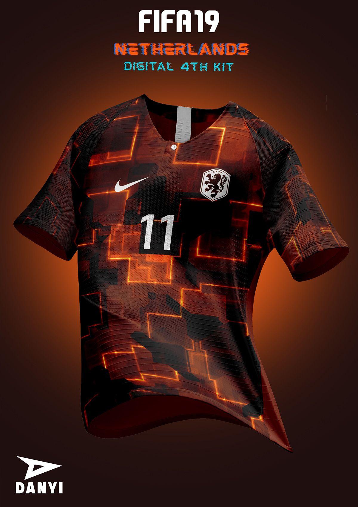 Fifa 19 X Nike Football Kits On Behance Camisetas De Futebol