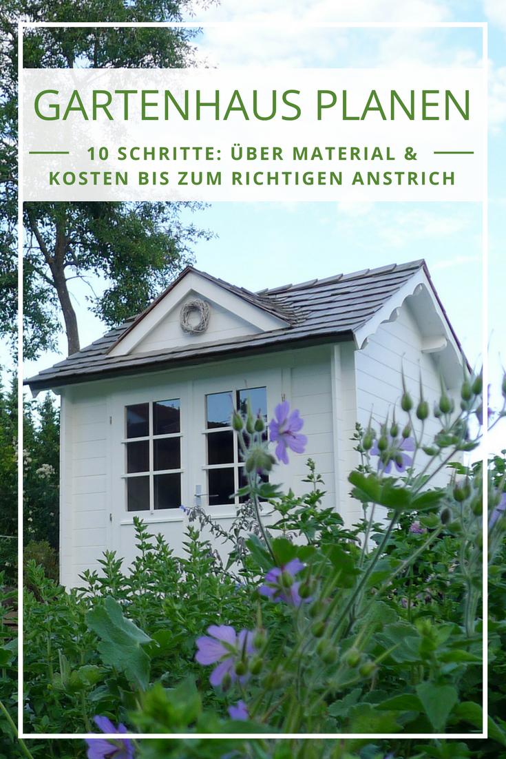 Gartenhaus Planen In 10 Schritten Zum Gartenhaus Uber Material