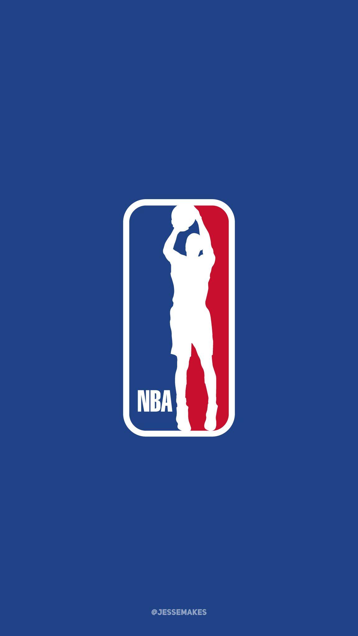 Steph Curry As The Nba Logo Nba Logo Nba Wallpapers Nba