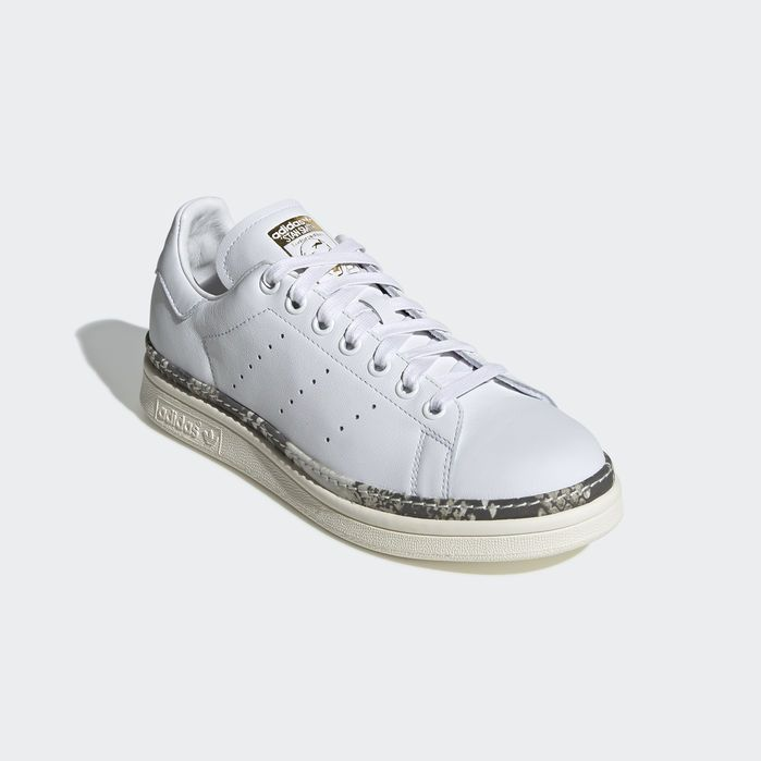 check out 2a7a5 fe148 Stan Smith New Bold Shoes White 10.5 Womens