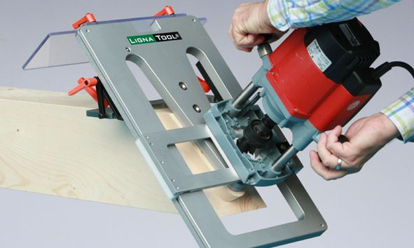 Timber Frame Dovetailed Mortise and Tenon Jig | Timber Frame Tools ...