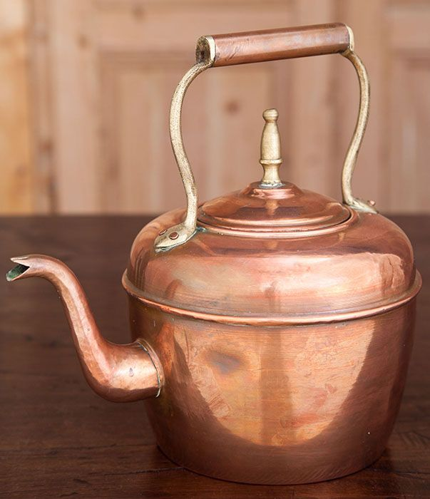 Bright copper kettles (Antique Copper Water Kettle)