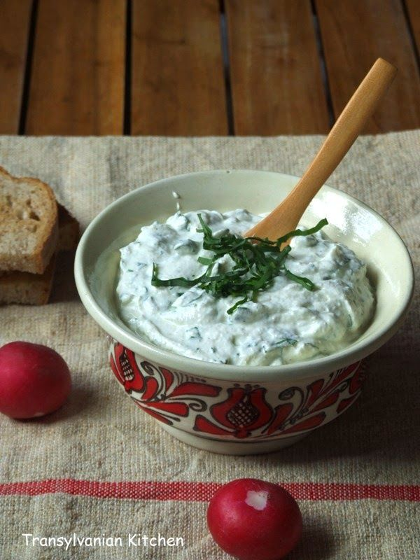 Creamcheese and Ramsons Dip by Transylvanian Kitchen