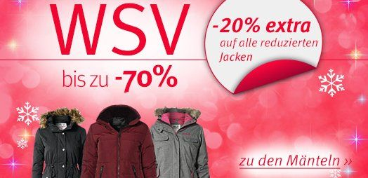 Winterjacken sale