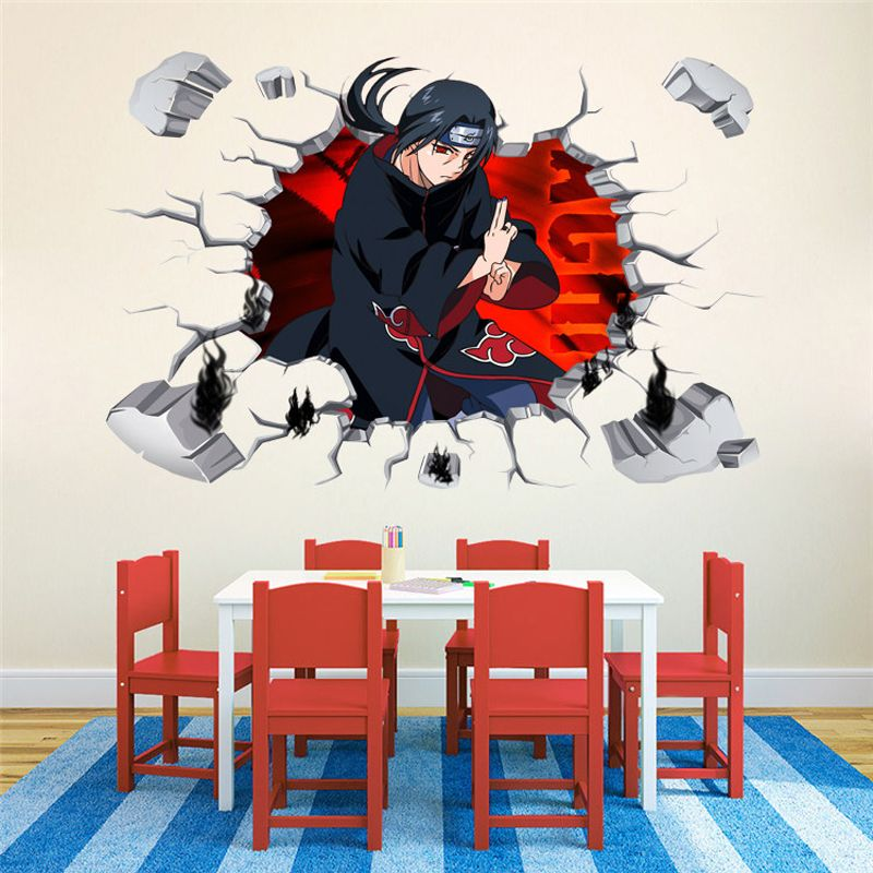 3d naruto sticker anime wall decal pictures price 16