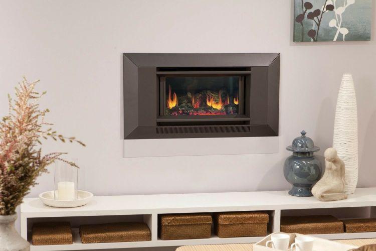 Coonara Chateau Series 2 Inbuilt Gas Log Fireplace Fireplace