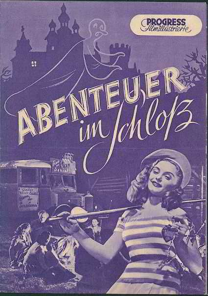 Progress Filmprogramm Jahrgang 1952 Abenteuer im