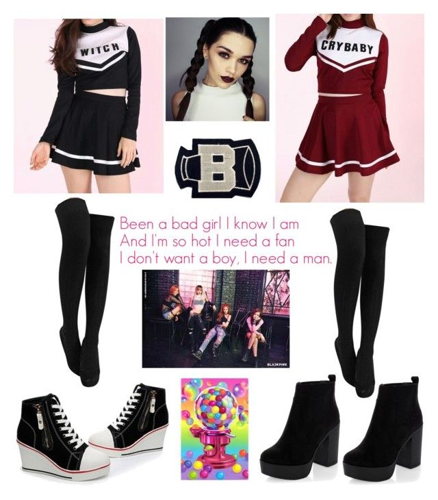 blackpink boombayah inspired outfit cheerleader ver