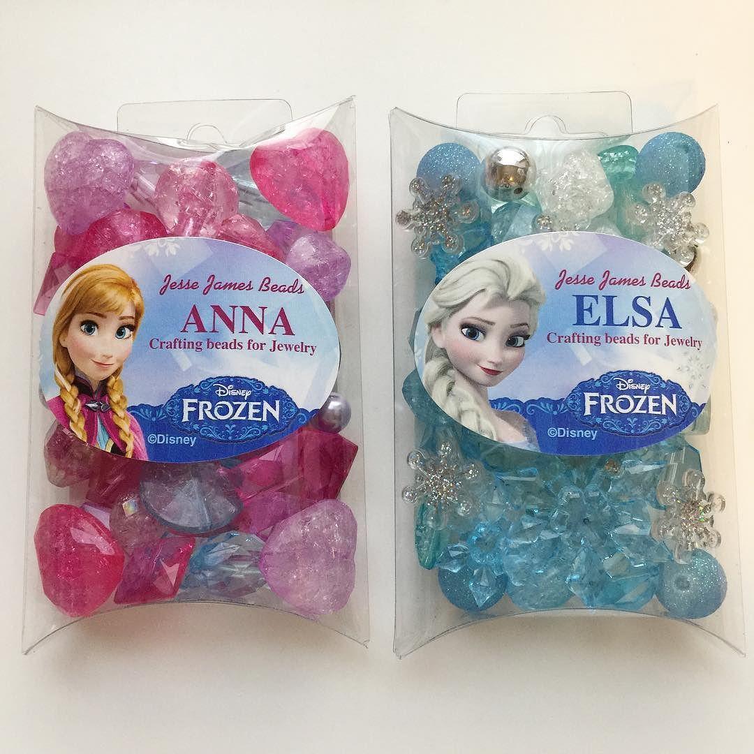 Jesse James Beads Elsa Collection Disney Frozen Craft Beads