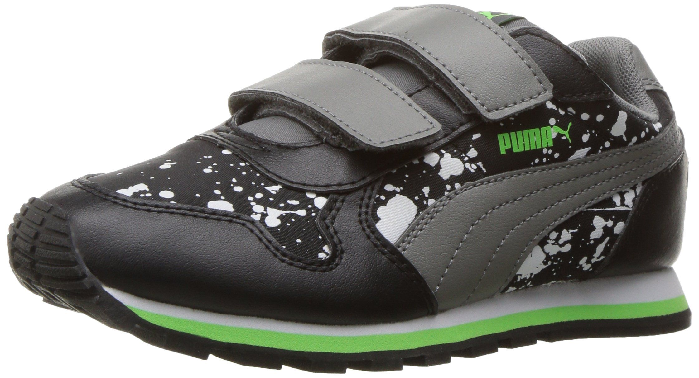 PUMA Kids' ST Runner NL Splatz V PS Running Shoe, Puma