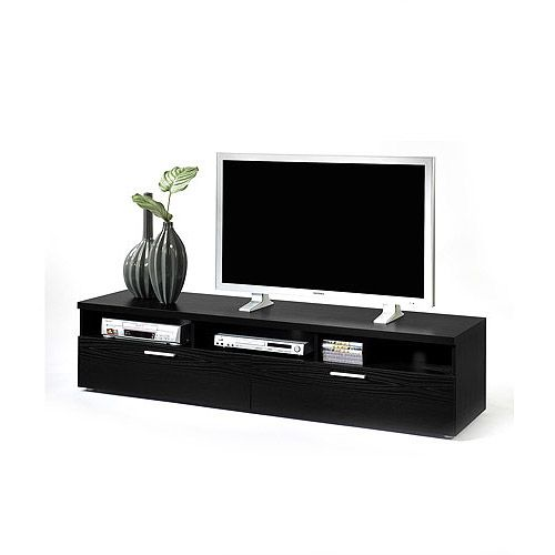 Hayward TV Stand Black Woodgrain, for TVs up to 70\