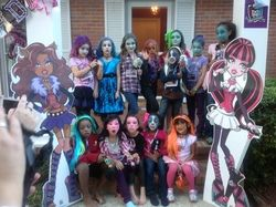 """Monster High / Birthday """"Paige's Monster High Party"""" 