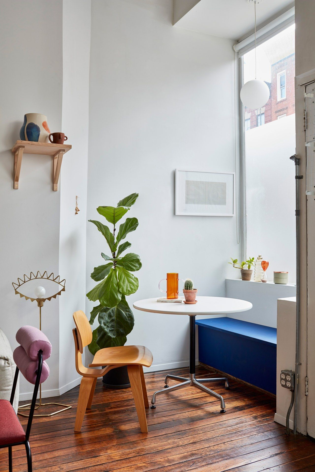 Eclectic Apartment Gives New Functions To Simple Designs Kitchen