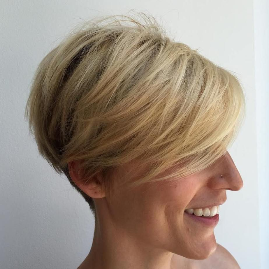 mindblowing short hairstyles for fine hair pixie bob blonde
