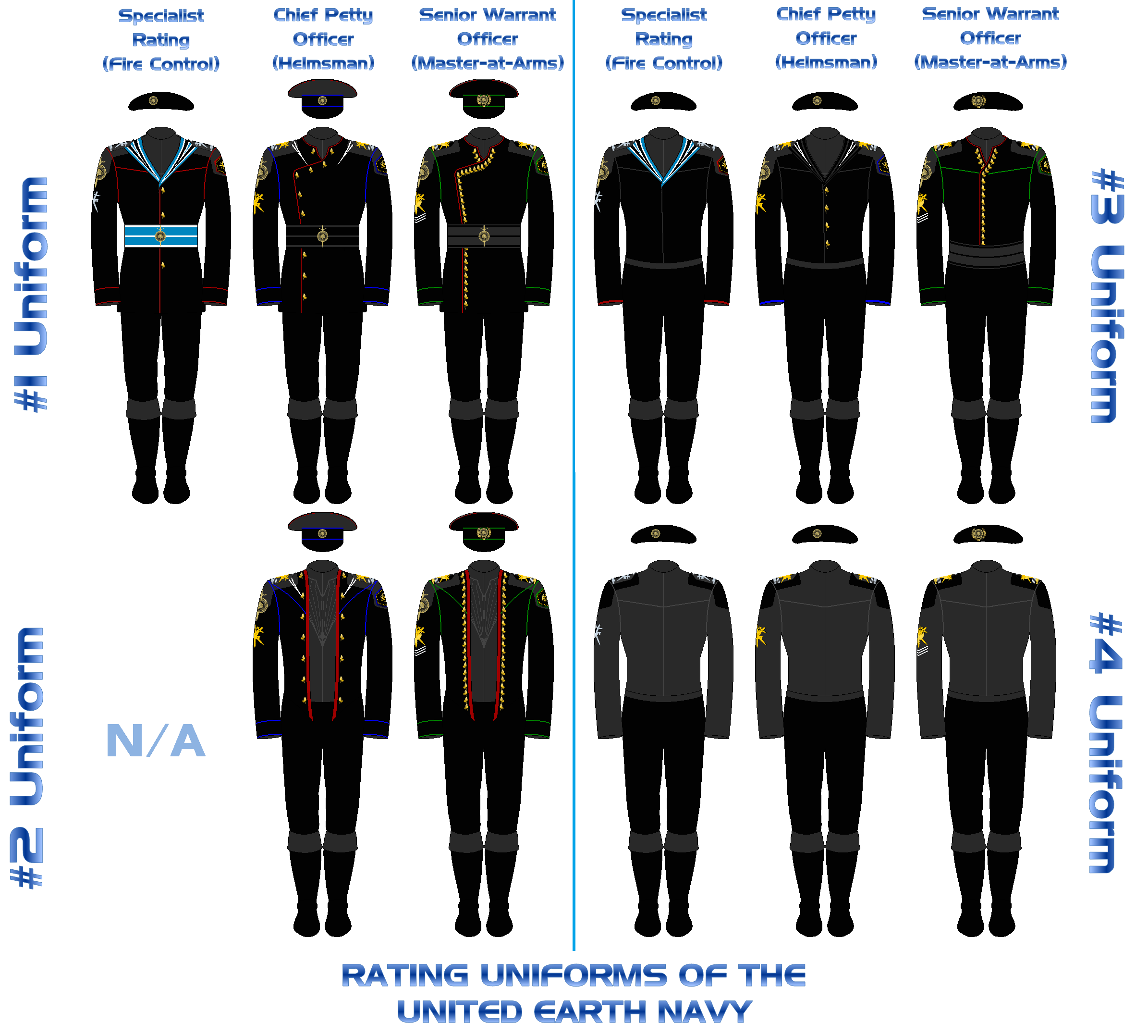 Line Art Uniform : A line drawing of selection officer s uniforms in the