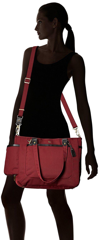 amazoncom travelon antitheft ltd tote bag wine one size - Travel Tote Bags