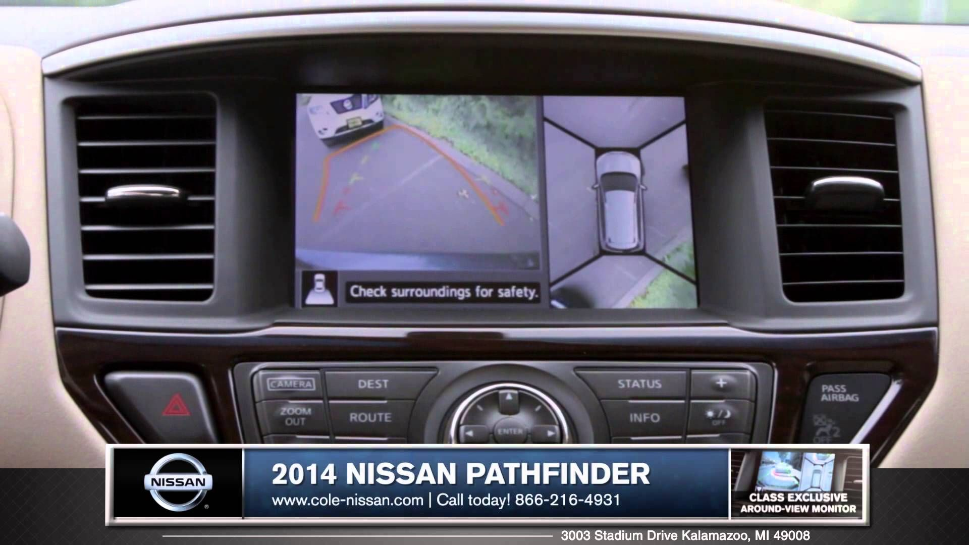 Grand Rapids, MI   2014 Nissan Pathfinder Safety Review From Cole Nissan  Http:/