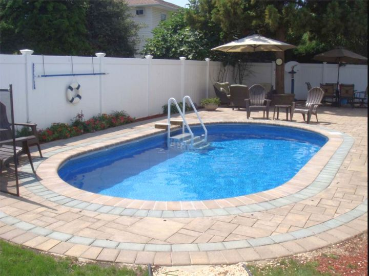 Simple Pool For Small Yard Umbrellas Swimming Designs Inground Pools