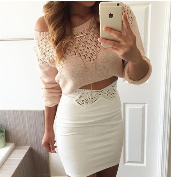 Get the top for $20 at outfitmade.com - Wheretoget | White skirts ...