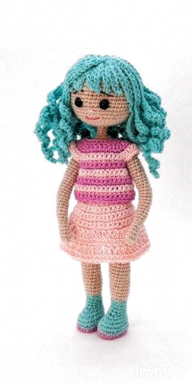 Free Crochet Amigurumi Doll Pattern (A Basic Crochet Doll Pattern ... | 1240x620