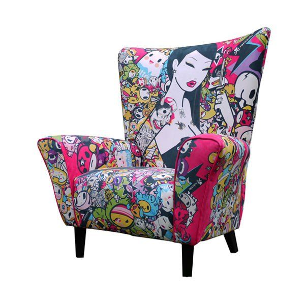 27 cool furniture ideas inspired by pop art furniture for Muebles pop art