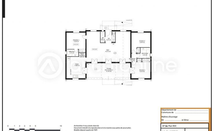 Plan De Maison Le Mas Provencal  ForumconstruireCom  Cabin