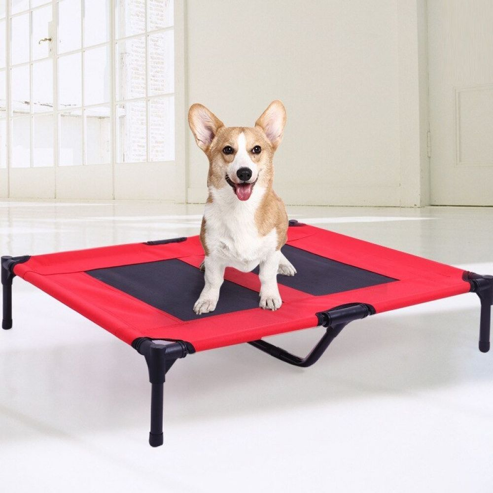 Foldable Dog Trampoline Bed Price 79 14 Free Shipping Puppylove Lovn Love Doggo Bestfriend Doglover Dog Trampoline Bed Outdoor Dog Bed Dog House Bed