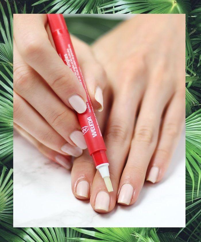 Weleda Nagelpflege-Stift mit Wachsen und Granatapfelsamenöl