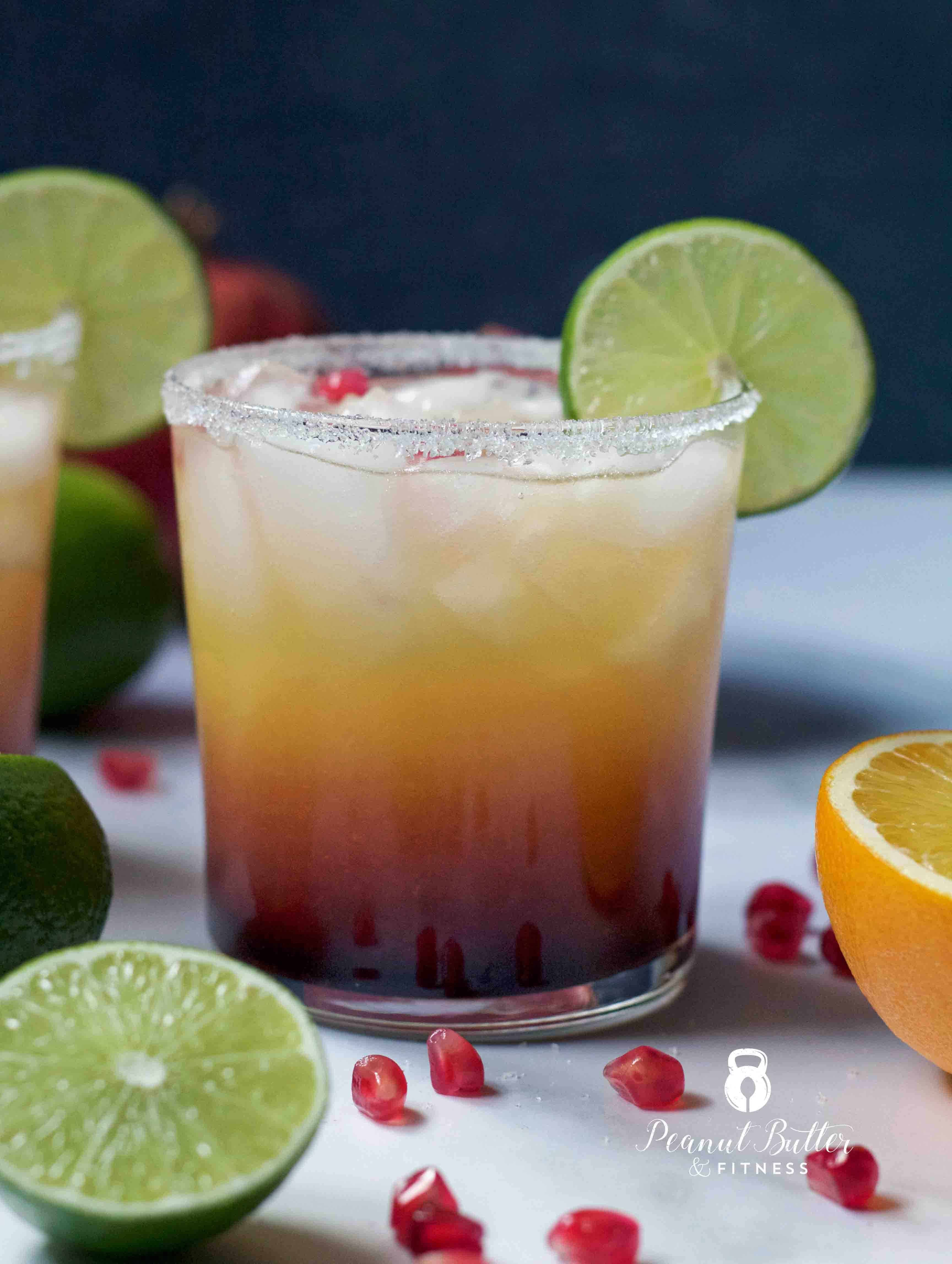 Pomegranate Margarita Recipe: Pomegranate Sunset Margarita