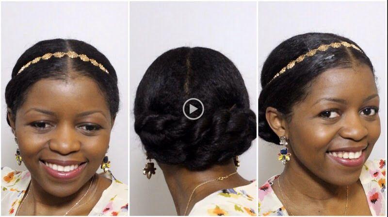 Idea by Johari Johnson on Up dos   Natural wedding hairstyles, Natural hair styles, Wedding ...