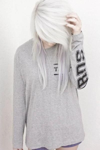 All I want right now is some long, white hair.
