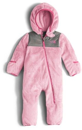 3970daa5fc6d The North Face Girl s Oso Fleece Snowsuit - Infant Girls