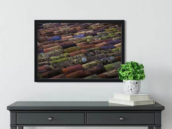 Best Fine Art Photography Print Colorful Roof Ii France 2017 ∙ The Colorful Abstract On… Fine 400 x 300