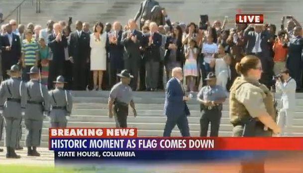 KKK rally still on despite Confederate flag's removal - wistv com