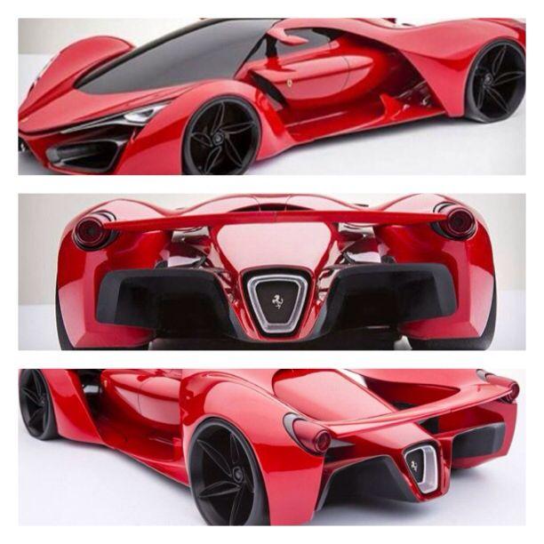 New Ferrari prototipo