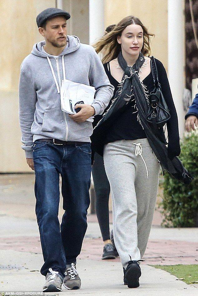Charlie Hunnam And Girlfriend Morgana McNelis Coordinate ...