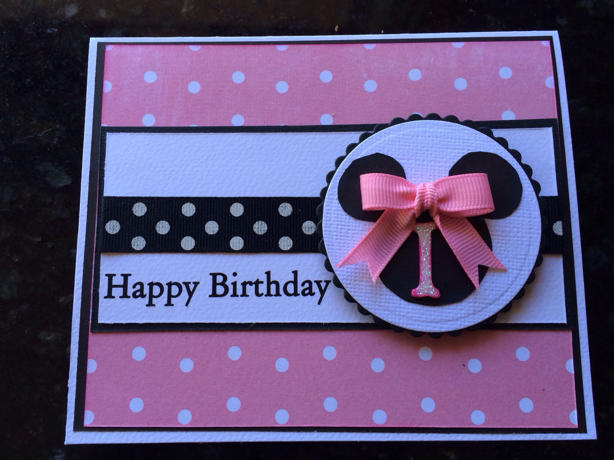 1st birthday card Kids card ideas Pinterest