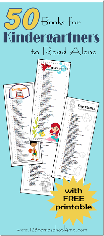 books kindergarteners can read alone free printables - Printable Books For Kids