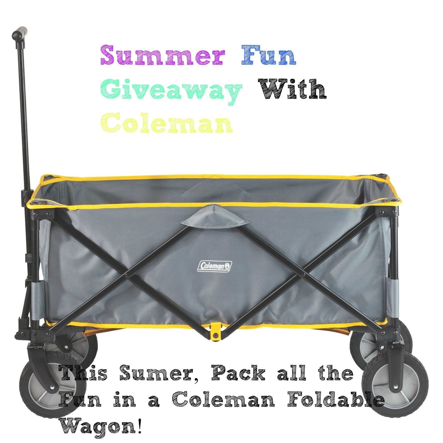 Ready+for+#Summer?+Pack+all+the+#Fun+in+a+#Coleman+#FoldableWagon!+#+Win+#Giveaway+#ad